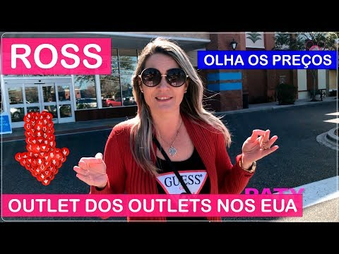 ROSS DRESS FOR LESS Orlando com PREÇOS no Viajar Muda Tudo!