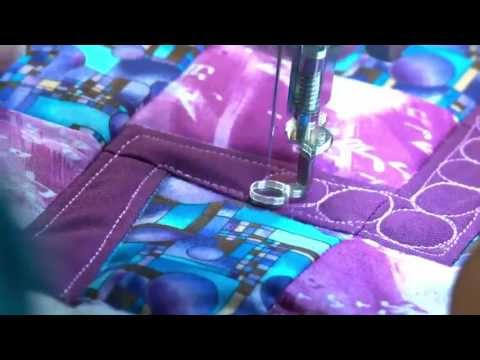 Stash Busters | Free Motion Quilting Ideas with Ann Petersen, Machine Quilter