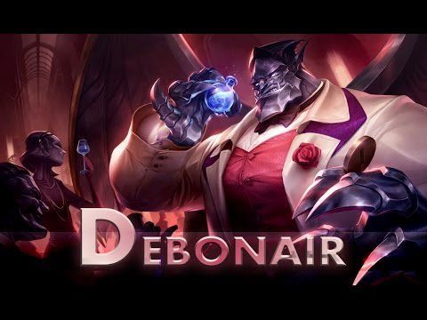 League of Legends: Debonair Galio (Skin Spotlight)
