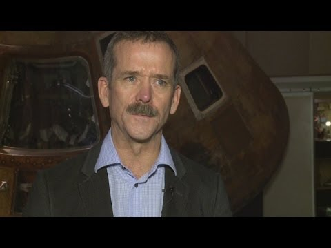 Astronaut Chris Hadfield's top tips for space tourists
