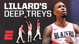 How Damian Lillard extended his range to make logo shots routine | Signature Shots