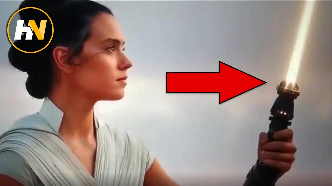 Rey S Yellow Lightsaber Importance Explained The Rise Of Skywalker Youtube