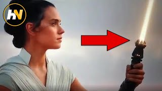 Rey's Yellow Lightsaber & Importance EXPLAINED | The Rise of Skywalker