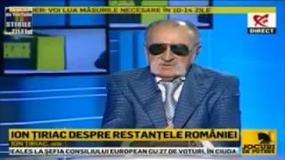 Ion Țiriac - jucator de tenis, om de afaceri: Eu sunt suveran