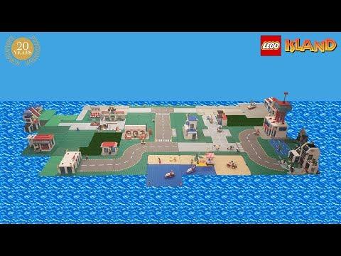 LEGO Island 20th Anniversary - Full Island Built In Real Life!