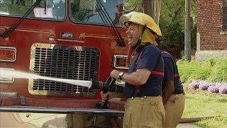 police officer vs firefighter throwback thursday
