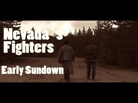 Nevadan Taistelijat aikainen auringonlasku/ Nevadas Fighters Early Sundown