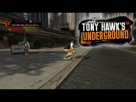 Let's Play Tony Hawk's Underground: Part 4 - Manhattan [Chapter 4]