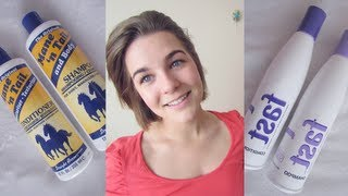Growing Out Hair? Mane N Tail V. FAST (Shampoo and Conditioner)