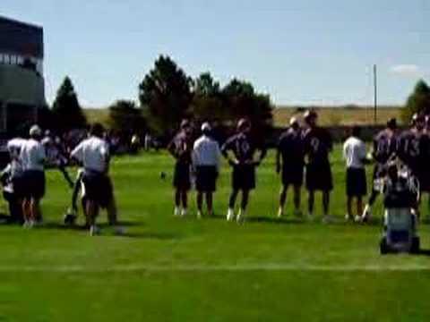 Jerry Rice - Denver Broncos Training Camp