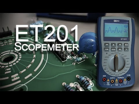 ET201 Oscilloscope-Multimeter Comes With A Lot Of Surprises
