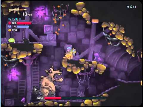 Zombotron 2:Level-10 BOSS Level Walkthrough - YouTube