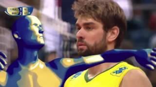 Brazil's 10-0 run vs. France