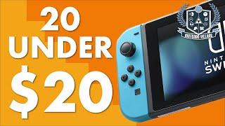 20 Best Switch Games Under $20 / £20 (2020)