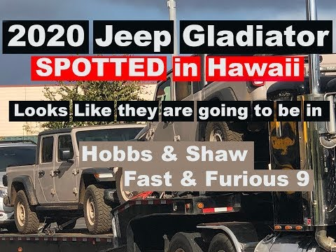 2020 Gladiator Spotted in Hawaii