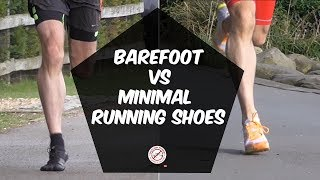 The difference between barefoot running shoes and minimal running shoes