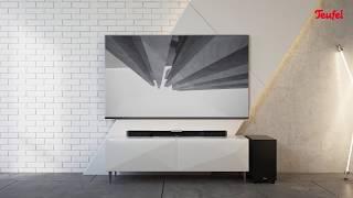 Cinebar Duett – slanke HDMI soundbar met draadloze subwoofer