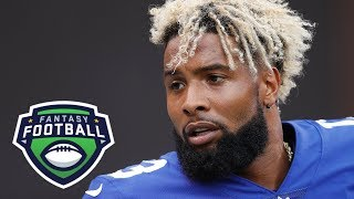 Odell Beckham Jr. moving down on Matthew Berry