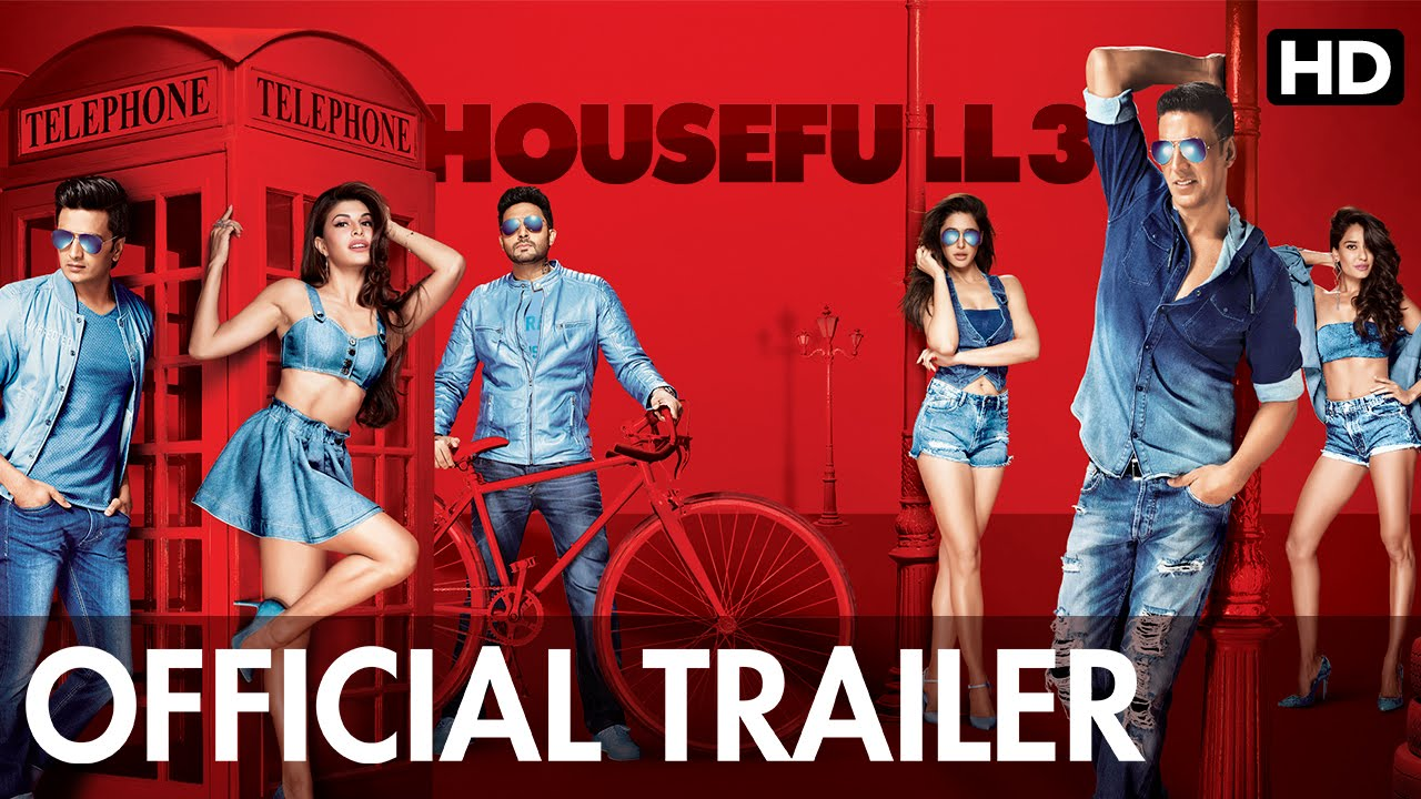Housefull 3 Official Trailer | Watch Full Movie On Eros Now