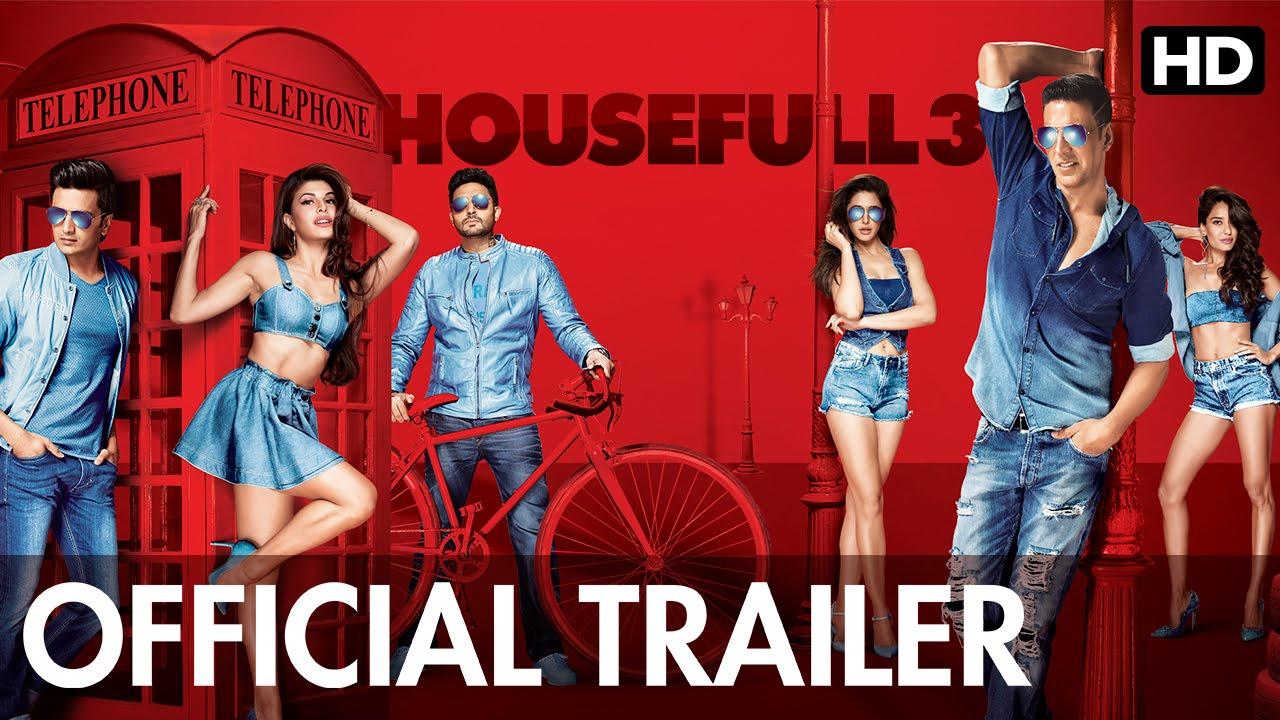 Housefull 3 Official Trailer With Subtitle | Akshay Kumar, Riteish  Deshmukh, Abhishek Bachchan   YouTube