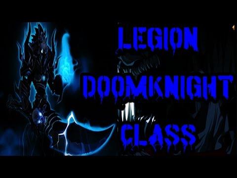 [AQW] LEGION DOOMKNIGHT CLASS GUIDE! ENHANCEMENTS, SKILLS AND SOLO!