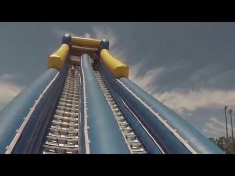 MUST SEE Mega Slides HICV Orange lake Resort 3yr old vs Slide