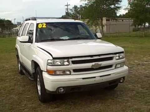 Used car dealer Gainesville, OCALA fl.02 CHEVY TAHOE Z71 4X4 CALL FRANCIS (352)-745-2019