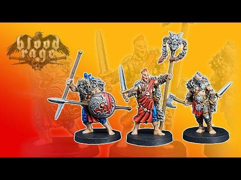 Painting Blood Rage Ep. 1 - Wolf Clan