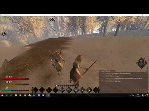 Life is Feudal l PVP l Failed raid with primitive fishing pole