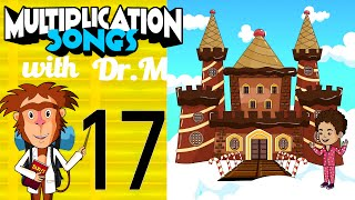 Multiplication Song 17 - My Fantasy Dream | Muffin Songs