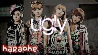 2NE1 - Ugly [karaoke]