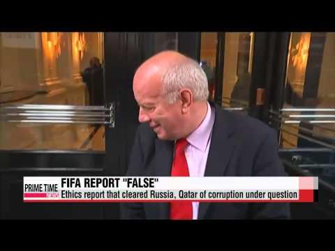 "FIFA′s corruption report ""false"" and ""erroneous""   FIFA &quo"
