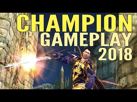 LOTRO Champion Gameplay 2018 – Lord of the Rings Online Mordor