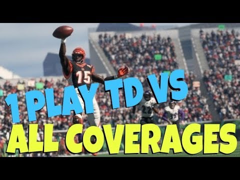 BEST PLAY IN MADDEN 18! GLITCH 1 PLAY TD VS ANY DEFENSE! MONEY PASS PLAY SAINTS TIPS