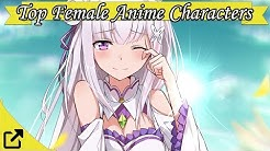 Top 100 Female Anime Characters 2017