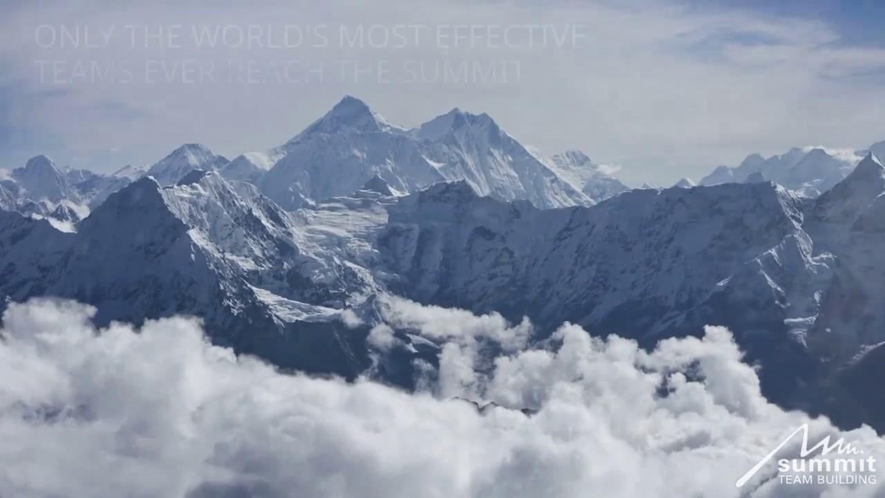 Fun Team Building Activity - Conquering Everest   Everest Speaker