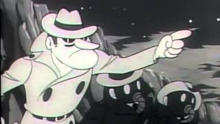 Cyborg 009 - b&w TV clips from 1968