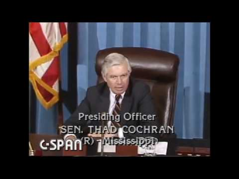 June 2, 1986: Sen. Thad Cochran (C-SPAN)