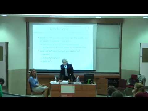 Rodolfo Debenedetti Lecture -  Hilary Hoynes - 14th October 2014