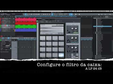 HOME STUDIO 21 - IMPACT - SYNTH DE PERCUSSÃO DO STUDIO ONE