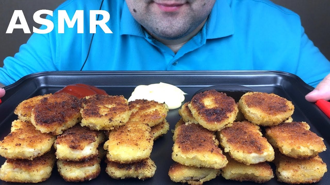 Asmr Deep Fried Chicken Nuggets Extreme Crunch Eating Sounds Mukbang No Talking