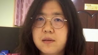 Detained Chinese citizen-journalist restrained to stop her from continuing hunger strike, lawyer …