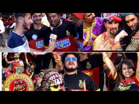 RCB crazy fans on EE SALA CUP NAMDE | IPL 2018 RCB PUBLIC REACTION out side the stadium