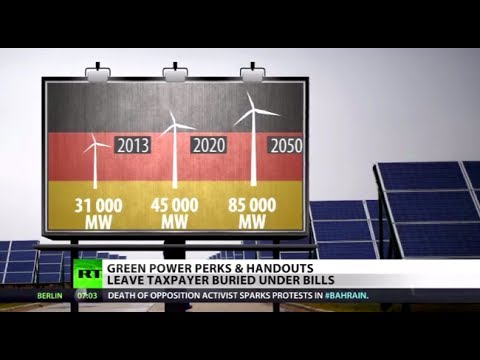 Power is Money: Green energy costs EU taxpayers a bundle, prompts crisis