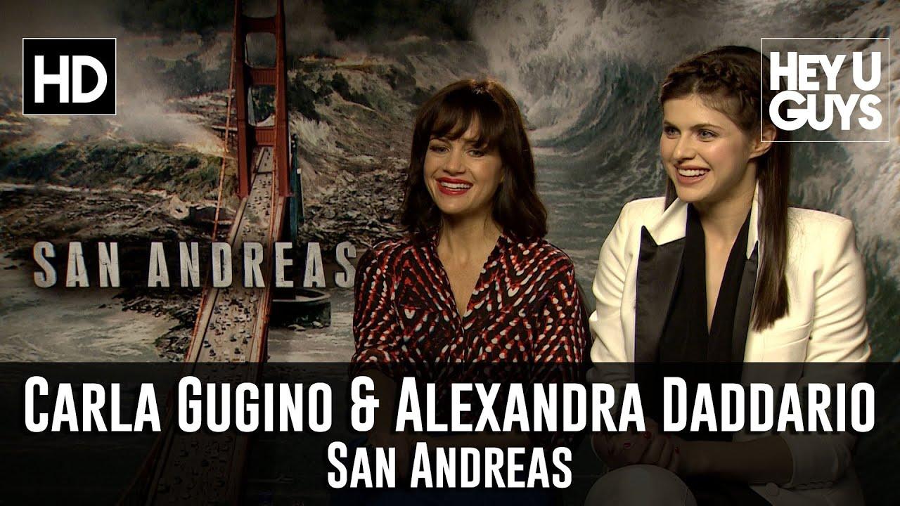 Carla Gugino Alexandra Daddario Interview