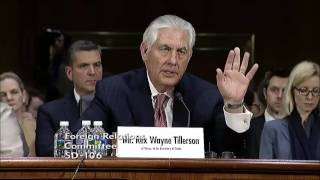 Rubio questions secretary of state nominee Rex Tillerson on repressive regimes