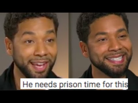 """SCAMMER""Jussie Smollett LIES In Interview & Could Face 30 Years ...?"