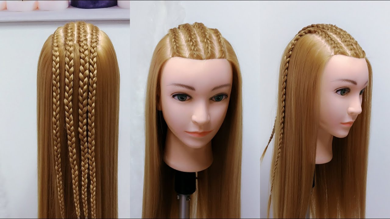 3 peinados faciles con trenzas africanas