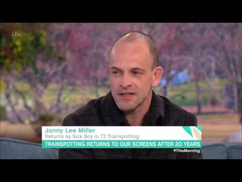 Jonny Lee Miller Is Not As Cool As Sickboy | This Morning