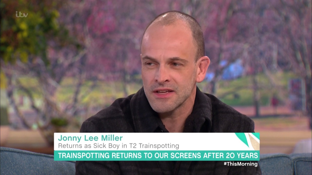 Jonny Lee Miller is Not as Cool as Sickboy | This Morning ...